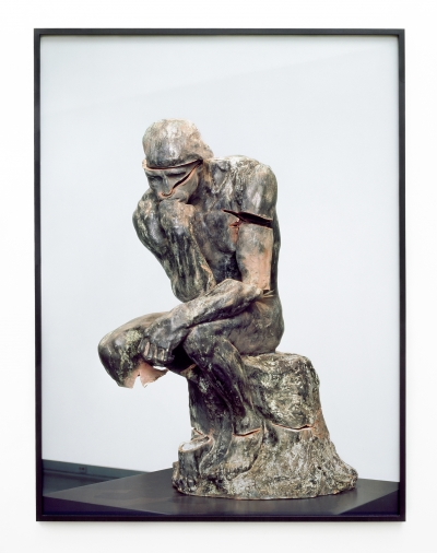Destroyed Thinker. Collaboration with Arnoud Holleman.